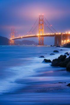 Golden Gate Bridge, San Francisco, CA, USA #Tour #SanFrancisco www.midnightlimo.net