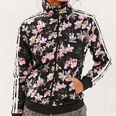 Adidas Jackets & Coats - Floral Adidas Originals Orchid Track Jacket