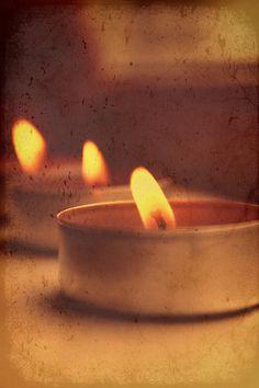 Christmas candle - Winter mood - Fine art photo - Original photography - Photo print - Festive mood - Candle Flame