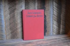 Jack Londons Stories For Boys Classic Books by NewFoundVintiques