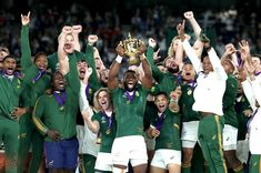 What an incredible journey is has been with our Boks 🇿🇦 As one nation we stood behind you and as one nation we are CHAMPIONS! Proudly South African 🇿🇦 Congratulations to our boys in green, you deserve it! 📸 cred: NBC News Siya Kolisi, Go Bokke, World Cup Fixtures, South African Rugby, Brunei Travel, Victory Parade, World Cup Final, All Blacks, Rugby World Cup