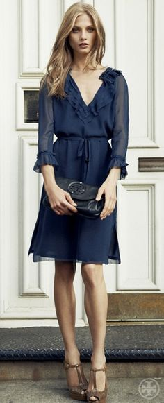 Simply lovely, frock!
