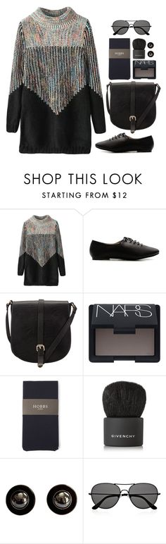 """Cozy Chic"" by grapecar1015 ❤ liked on Polyvore featuring Ollio, John Lewis, NARS Cosmetics, Hobbs, Givenchy, The Row, polyvoreeditorial, polyvorecontest and longsleevedress"