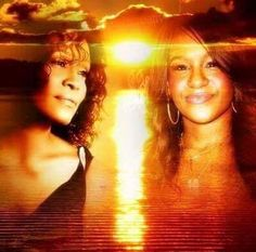 Reunited in death: Whitney Houston and daughter Bobbi Kristina Brown