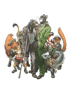 , xombiedirge: Blacksad by Juanjo Guarnido