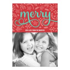 Celebrate the season with this modern and stylish holiday card from Berry Berry Sweet. Visit WWW.BERRYBERRYSWEET.COM for more of our stylish holiday collections.