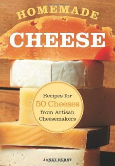 Drunken Goat Cheese - by Janet Hurst, from the book Homemade Cheese Recipes for 50 Cheeses from Artisan Cheesemakers : eatermagazine Fromage Vegan, Fromage Cheese, Cheddar Cheese, No Dairy Recipes, Milk Recipes, Cheese Recipes, Making Cheese At Home, How To Make Cheese, Sauces