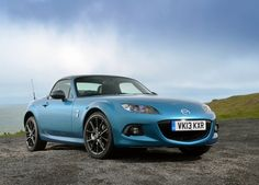 2013 Mazda MX-5 Sport Graphite, the new limited edition of the world's best-selling two seater sportscar. Unique styling and sporty performance, the Mazda MX-5 Sport Graphite Roadster Coupe went on sale in the UK ready for summer 2013.