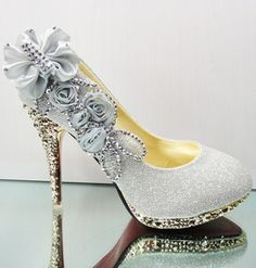 Dresswe.com SUPPLIES 2014 Fashion Platform Stiletto Heels Wedding Shoes Wedding Shoes