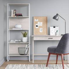 Clean and modern office set