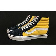 7913fb93e7 Vans Shoes Black Yellow Two-Tone Shoes Unisex Classic Canvas
