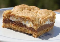 gluten/dairy free s'mores cookie bars