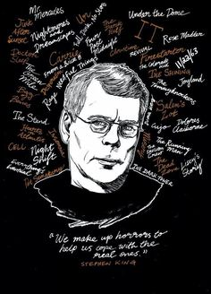 Quotes Famous Authors Stephen Kings 20 Ideas For 2019 Stephen King It, Stephen King Quotes, Stephen King Movies, Steven King, Stanley Kubrick, Books Art, The Dark Tower, King Art, Indie Movies