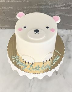 Best of Philly bakery for amazing wedding cakes, birthday cakes, cupcakes and cookie favors. 2 Year Old Birthday Cake, 1 Year Old Cake, Baby First Birthday Cake, Birthday Cake Girls, Cake 1 Year Boy, Cupcakes, Cake Designs For Girl, Bear Cakes, Girl Cakes