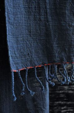 Indigo Towels | [ JURGEN LEHL ] online shop $18 and $33 (HAND)