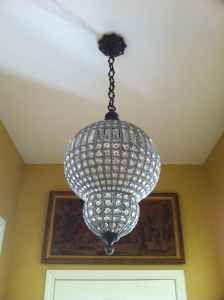 Luna Chandelier Small 40cm   Domayne   House   Pinterest ...
