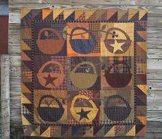 PPL035 Slim Pickins-pieced/appliqued quilt