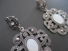 Boho silver earrings NEW – UK Seller – Vintage, Boho