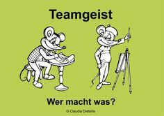 Bild zum Blogeintrag Teamgeist auf http://www.tipptrick.com/2015/02/04/claudias-praktischer-ratgeber-zum-teamgeist/