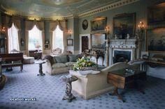 Sitting Room. Brocket Hall