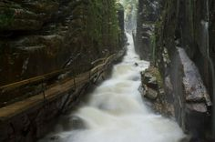 Flume Gorge State Park really nice to go to when you are in Lincoln or Woodstock, White Mountains area, New Hampshire