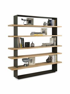Buy online Crazy By riva open wooden bookcase design C.R.&S. Wooden Bookcase, Bookcase Storage, Bookshelves, Shelving, Book Storage, Solid Wood Shelves, Villa, Natural Living, Bricolage