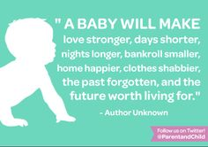 100% yes! #parenting #quotes Follow Parent & Child on Twitter for more quotes! https://twitter.com/PARENTandCHILD