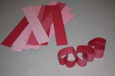 As part of my valentine's day decor, I made a heart-shaped wreath out of last year's Stampin' Up! valentine's designer series paper. I bought the paper from the clearance rack and quickly started t...