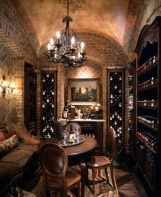 Wine cellar bar в 2019 г. home wine cellars, wine cellar basement и win Wine Cellar Basement, Home Wine Cellars, Wine Cellar Design, Wine Display, Cigar Room, Italian Wine, Wine Storage, Caves, Custom Homes