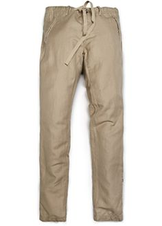 HEbyMango - linen and cotton pant. The best idea for summer