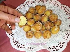 Castagnole mascarpone e arancia - morbide e profumate - YouTube Pretzel Bites, Bread, Youtube, Food, Mascarpone, Brot, Essen, Baking, Meals