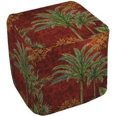 Thumbprintz Palms Pouf