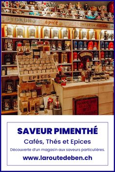Saveur Pimenthé est une boutique situé dans le centre de lausanne proposant un assortiment de cafés, de thé et d'épices ainsi que des produits gourmands de part le monde. #thé #café #suisse #lausanne #shopping Lausanne, Restaurants, Boutique, Ainsi, Centre, Shopping, Coffee Roasting, Switzerland, Fine Dining