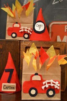 brandweer traktatie
