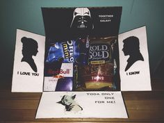 Star Wars military care package for my Airman.                                                                                                                                                                                 More