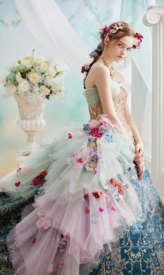 Pin by Long Mary on Beautiful dresses in 2019 Wedding Dress Styles, Bridal Dresses, Wedding Gowns, Prom Dresses, Fairytale Gown, Fairy Dress, Fantasy Dress, Embellished Dress, Beautiful Gowns