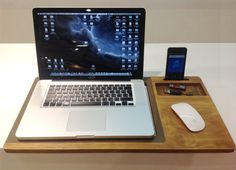 Christmas Sale 20% Off Laptop Stands Lap desk by artWoodworking
