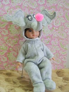 AnnEstellesWorld: View Photo: 50 Horton Hears a Who costume from DOLLS Magazine pattern worn by Michael