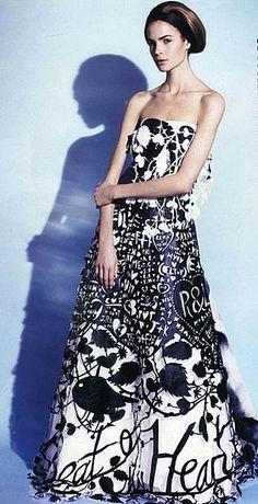 """""""paper-cut dress""""~Rob Ryan"""