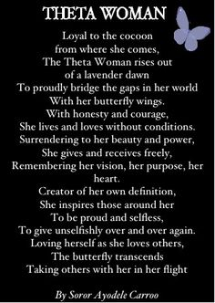Theta Woman