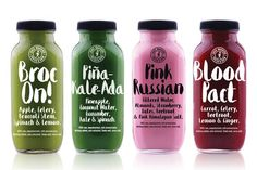 Juice Warrior – Branding and Packaging on Behance