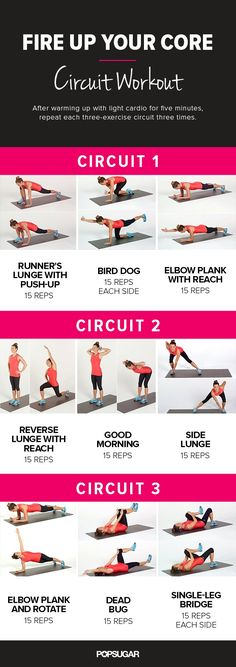 Pin for Later: Do This 20-Minute Bodyweight Circuit Workout And You'll Feel Awesome Afterward