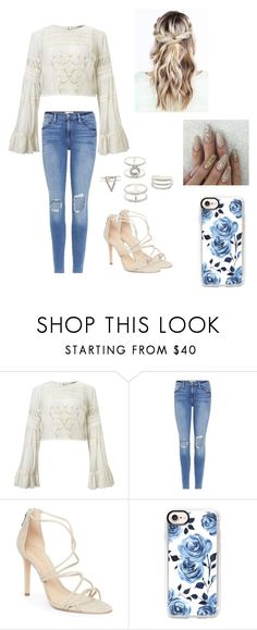 """School"" by kendall-bostic ❤ liked on Polyvore featuring Miss Selfridge, Frame, Schutz, Casetify and Charlotte Russe"