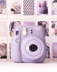 Instax Mini Film, Fujifilm Instax Mini, Violet Aesthetic, Lavender Aesthetic, Aesthetic Colors, Polaroid Camera Instax, Camera Art, Camera Tips, Camera Hacks