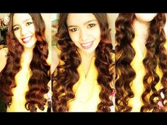 Straw Waves Part 6 – No Heat Miley Cyrus Inspired Loose Waves to Soft Waves and an Update - All For Colors Hair Wavy Hairstyles Tutorial, Heatless Hairstyles, Heatless Curls, No Heat Hairstyles, Curled Hairstyles, Waves Curls, Loose Waves, Soft Waves, Big Waves