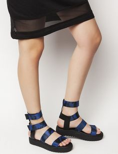 Jesse Blue Flatforms S/S 2015 #Fred #keepfred #shoes #collection #fashion #style #new #women #trends #flatforms #lastixa #sandals #black #blue Trends, Sandals, Blue, Shoes, Collection, Women, Style, Fashion, Swag