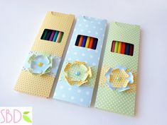 Sweet Bio design: Tutorial: Scatola porta Matite - Pencils paper Box