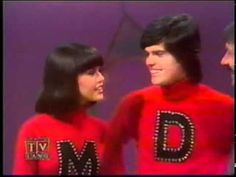From the Sonny & Cher Show:  Sonny & Cher & Donny & Marie Osmond    Silly Love Songs    This was one of my favorite songs of the 70s - the original by Paul McCartney and Wings - NOT this version :)
