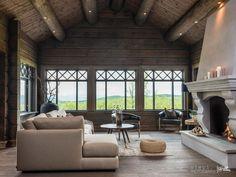 GEILO - Kikut. Nyoppført lekker hytte med flott og attraktiv beliggenhet. | FINN.no Chalet Design, Mountain Cottage, Home Reno, Log Homes, My Dream Home, Real Estate, Patio, Outdoor Decor, Inspiration