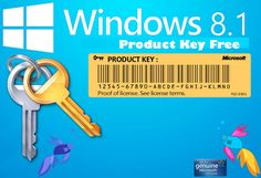 Today, we will give you Windows 8.1 product key free. Windows 8.1 is an upgrade for Windows 8, a computer operating system released by Microsoft.